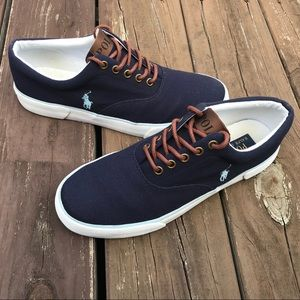 Polo by Ralph Lauren Canvas Low Top